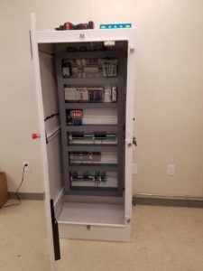 Inside a network Cabinet
